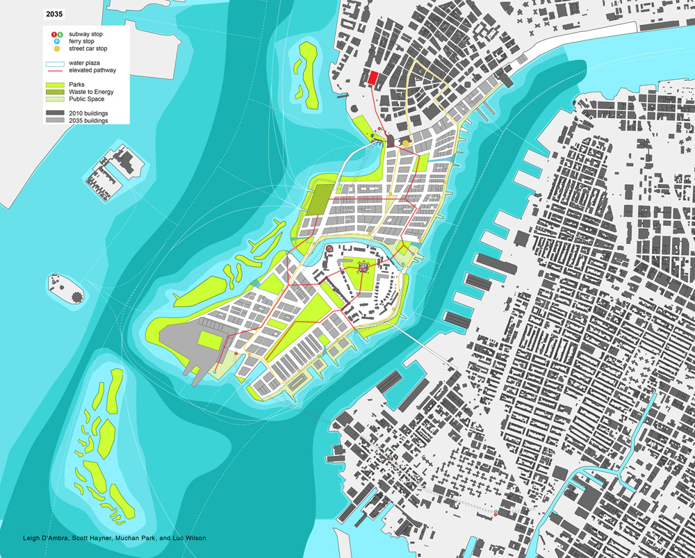 The Future History of New York City | Plan | Muchan Park, Luc Wilson, Leigh D'ambra and Scott Hayner